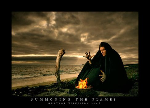 Summoning The Flames by tuborg