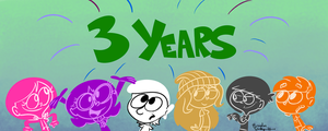 3 Years by rachetcartoons