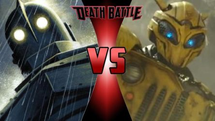 Iron Giant vs. Bumblebee by OmnicidalClown1992