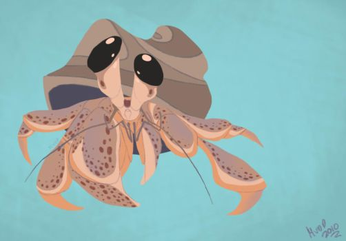 Daily Design: Hermit Crab by sketchinthoughts