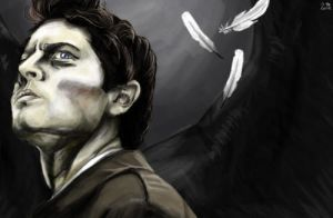 Castiel, angel of the lord. by Loornaa