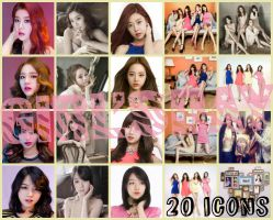 20 Icons de Girls Day by LuannaMaria
