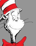 Cat In The Hat Daily sketch #855 by GothicVampireFreak