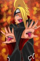 Deidara senpai by Salty-art