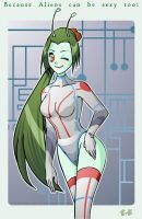 Because Aliens Can Be Sexy by Sorceress-Eleya