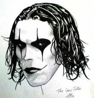 Brandon Lee The Crow tattoo by Paxo666
