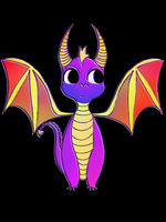 Spyro The Dragon by awokenbyacloud