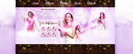 LittleMix PSD Header by cherryproductionsorg