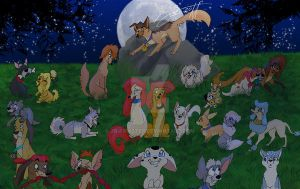 Fullmoon Meeting by JB-Pawstep