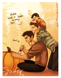 Pumpkin Carving by spider999now