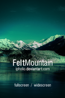 Felt Mountain Wallpaper Pack by ipholio