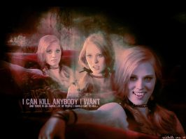 I can kill anybody I want by mitchie-v