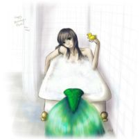 Mermaid in my Bathtub by ameides