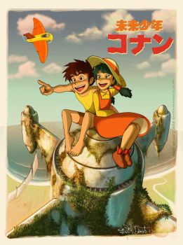 Future boy Conan by pacodesiato