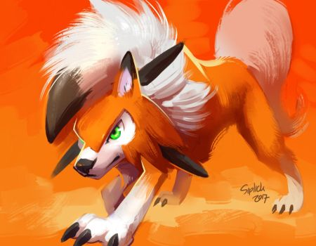 Lycanroc Dusk by Siplick