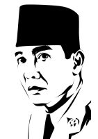 Bung Karno by astayoga