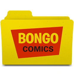 Bongo Comics Folder by Crisds03