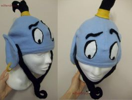 Fleece Hat: Genie by wilterdrose