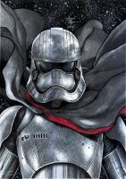 Captain Phasma Sketch Colors by ARTTHAM