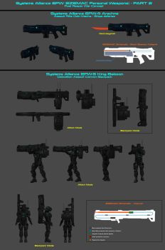 Systems Alliance Ezemac Personal Weapons - Part 2 by nach77