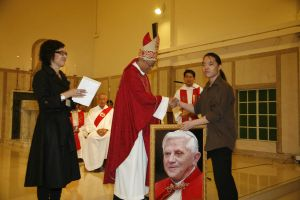 At Ceremony with Cardinal 2 by michaelandrewlaw