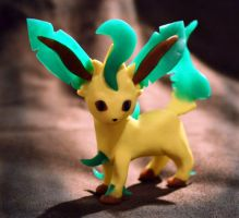No.470 Leafeon by LizArtCrafts