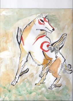 Amaterasu by water-faries