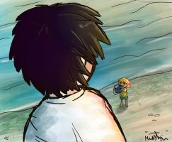 Gt Drawing Challenge Collecting Shells by Friendlyfoxpal