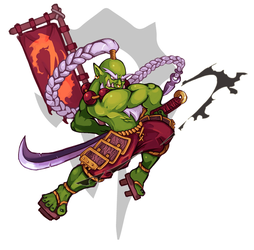 Samuro by Orkimides