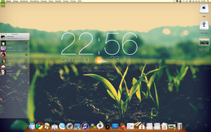 Mac OS X Lion on Hackintosh by PhilDesire