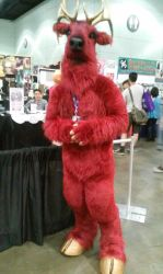 AX 2015- A Red Buck by Crystalsonicfan