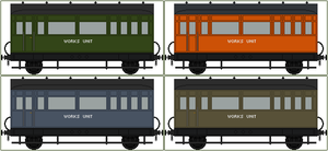 Works Unit Coaches by Princess-Muffins