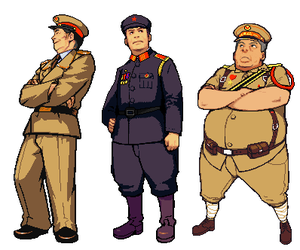 Advance Wars: ZH China COs by CarrionTrooper