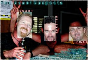 The unUsual Suspects by scart