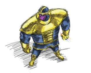 Thanos by naguibcanvas