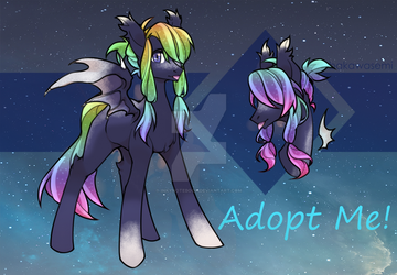 [CLOSED] Sparkle Bat Adopt by InkyNotebook