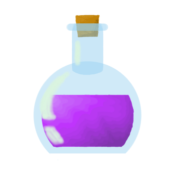 Potion Purple by Shinigami-cat