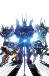 Transformers Lost Light issue 3 Sub cover colours by markerguru