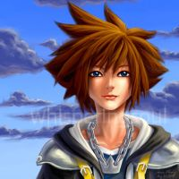 Kingdom Hearts: Sora by WhisperingSoul