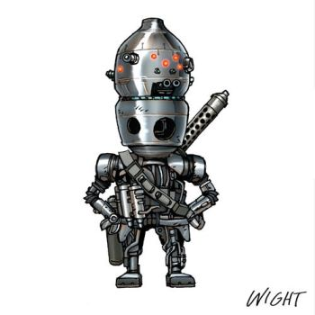 I is for IG-88 by joewight