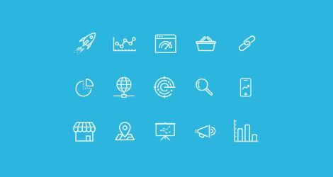 SEO Icons Freebie by NilsHuber
