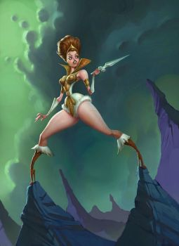 Masters of the Universe: Teela by Artsammich