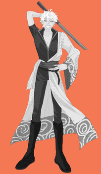 Gintoki Sakata! (Commission for BadFriendShipBro) by ChiliChizu