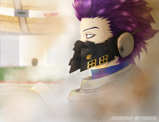 Hitoshi Shinso Hero Suit by cgRainden