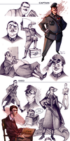 Comic characters concepts 02 by Phobs0