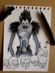 Death Note, Ryuk Shinigami by middleofadream