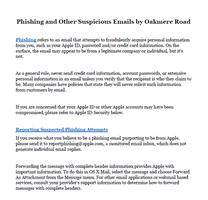 Phishing and Other Suspicious Emails by Oakmere by levicrisp05