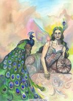 Lady of the Peacocks by fanitsafantasy