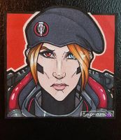 COPIC: Blackwatch Moira by brytlejuice