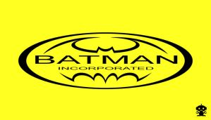 2010 Batman Incorporated Comic Title Title Logo by TheDorkKnightReturns